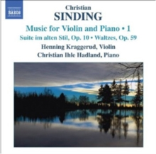Music for Violin and Piano 1, CD / Album