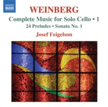 Weinberg: Complete Music for Solo Cello, CD / Album