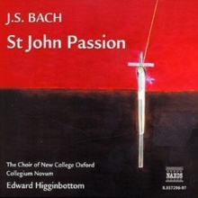 St. John Passion (Higginbottom, Choir of New College Oxford), CD / Album