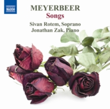 Meyerbeer: Songs, CD / Album