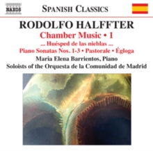 Rodolfo Halffter: Chamber Music, CD / Album