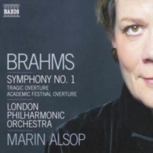 Symphony No. 1, Tragic Overture (Alsop, Lpo), CD / Album