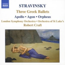 Three Greek Ballets - Apollo/agon/orpheus (Craft, Lso), CD / Album