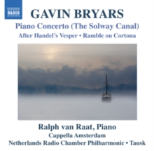 Gavin Bryars: Piano Concerto, 'The Solway Canal', CD / Album