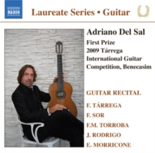Adriano Del Sal: Guitar Recital, CD / Album