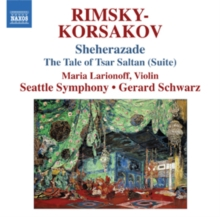 Rimsky-Korsakov: Sheherazade/The Tale of Tsar Saltan, CD / Album Cd