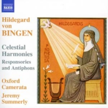 Celestial Harmonies (Summerly, Oxford Camerata), CD / Album