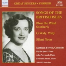 Songs of the British Isles (Ferrier), CD / Album