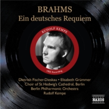 Ein Deutsches Requiem Op. 45, CD / Album Cd