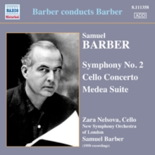 Samuel Barber: Symphony No. 2/Cello Concerto/Medea Suite, CD / Album