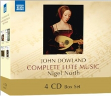 John Dowland: Complete Lute Music, CD / Album