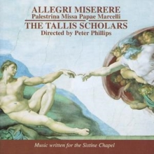 Allegri: Miserere/Palestrina: Missa Papae Marcelli, CD / Album