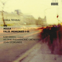 Jukka Tiensuu: Vie/Missa/False Memories I-III, CD / Album Cd