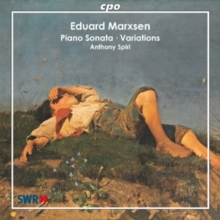 Eduard Marxsen: Piano Sonata/Variations, CD / Album