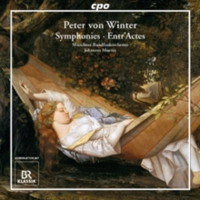 Peter Von Winter: Symphonies/Entr'actes, CD / Album