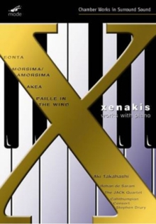 Xenakis: Works With Piano, DVD