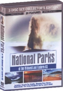 National Parks of the Midwest and Eastern US, DVD