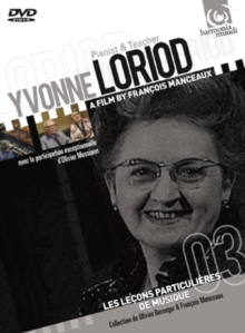 Yvonne Loriod: Pianist and Teacher, DVD