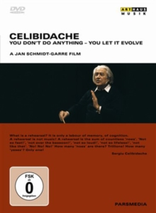 Celibidache: You Don't Do Anything - You Let It Evolve, DVD
