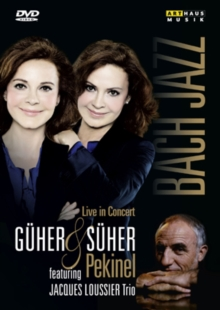Guher and Suher Pekinel: Bach and Jazz (Davis), DVD