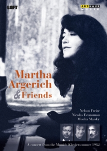 Martha Argerich and Friends, DVD