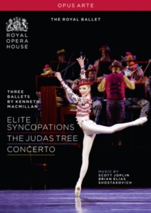 Three Ballets By Kenneth Macmillan: The Royal Ballet, DVD