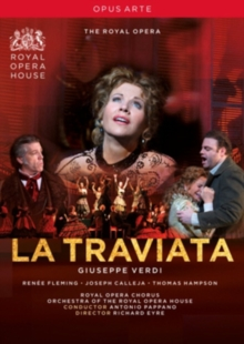 La Traviata: The Royal Opera House (Pappano), DVD  DVD