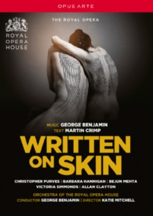 Written On Skin: The Royal Opera (Benjamin), DVD