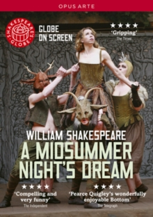A   Midsummer Night's Dream: Shakespeare's Globe, DVD