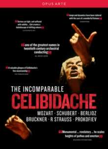 The Incomparable Celibidache, DVD