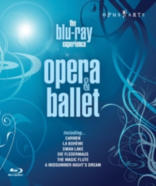 Opera and Ballet - The Blu-ray Experience, Blu-ray