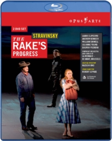 Rake's Progress: Theatre Royal De La Monnaie, Brussels (Ono), Blu-ray