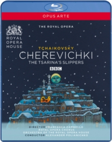 Cherevichki: Royal Opera House (Polianichko), Blu-ray