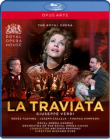 La Traviata: The Royal Opera House (Pappano), Blu-ray  BluRay