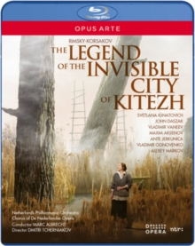 Legend of the Invisible City of Kitezh: De Nederlandse..., Blu-ray