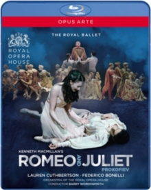 Romeo and Juliet: Royal Opera House (Wordsworth), Blu-ray