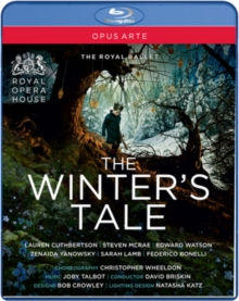The Winter's Tale: The Royal Ballet, Blu-ray