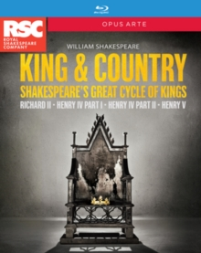 King & Country - Shakespeare's Great Cycle of Kings, Blu-ray