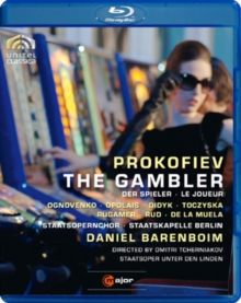 Gambler: Staatskapelle Berlin (Barenboim), Blu-ray BluRay