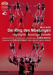 Der Ring Des Nibelungen: Highlights (La Fura Dels Baus), DVD