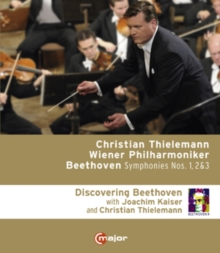 Beethoven: Symphonies 1, 2 and 3 (Thielemann), Blu-ray