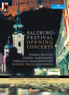 Salzburg Festival Opening Concert Collection, DVD