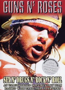Guns 'n' Roses: Sex n' Drugs n' Rock n' Roll, DVD  DVD