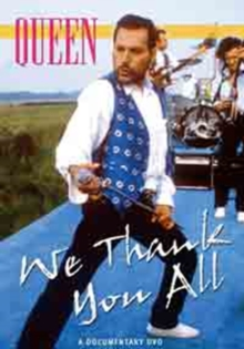Queen: We Thank You All, DVD