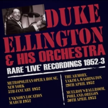 Rare 'Live' Recordings 1952-3, CD / Album