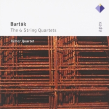 String Quartets 1 - 6 (Keller Quartet), CD / Album