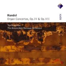 Organ Concertos Op. Iv and Op. Vii (Koopman, Amsterdam Bo), CD / Album