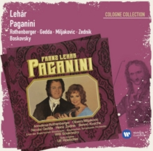 Lehar: Paganini, CD / Album Cd