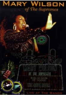 Mary Wilson: Up Close - Live at the Sands, DVD