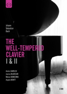 Bach: The Well-tempered Clavier 1 and 2, DVD